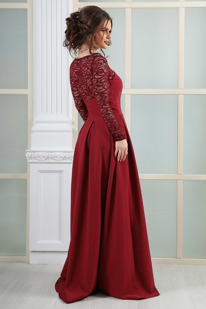 платье длинное открытая спина купить