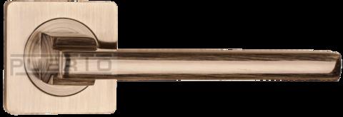 Фурнитура - Ручка Дверная  Puerto AL 514-02, цвет бронза античная