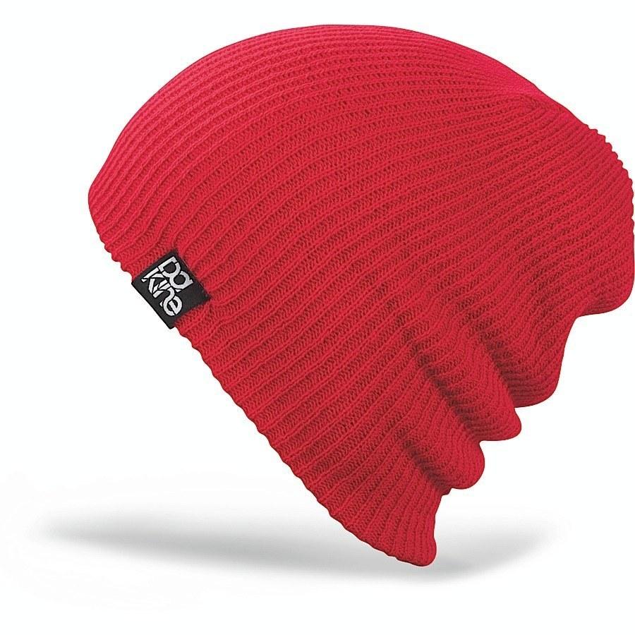 Длинные шапки Шапка-бини вязаная Dakine Tall Boy Red 52.jpg