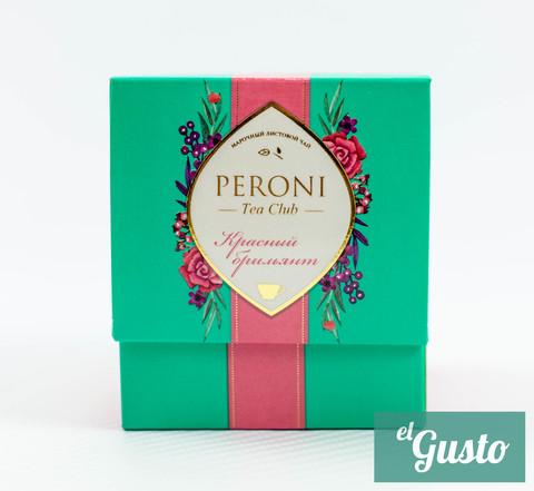 """Чай чёрный китайский крупнолистовой Peroni Tea Funny """"Красный бриллиант"""",60 гр."""
