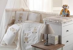 Детское постельное белье BEBE бежевый Gelin home Турция