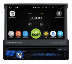 Штатная магнитола 1 DIN на Android 8.0 для Peugeot 307 I 01-08 Roximo CarDroid RD-1001