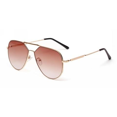 Солнцезащитные очки 6281002s Коричневый - фото