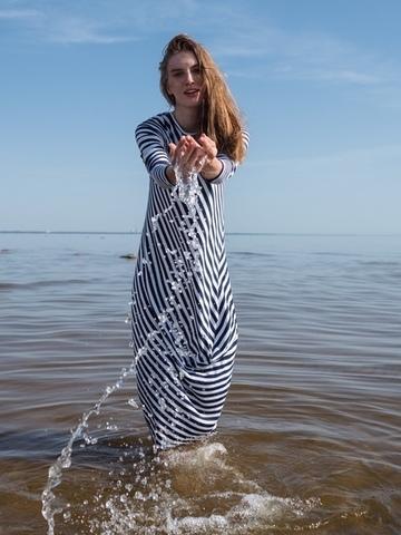 Платье «N.V.» blue-white