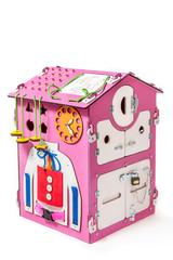 Easy Time Развивающий Большой БизиДом (розовый) (dr03)