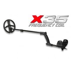 Металлоискатель XP DEUS X35 с катушкой 22 см без блока управления с наушниками WS5