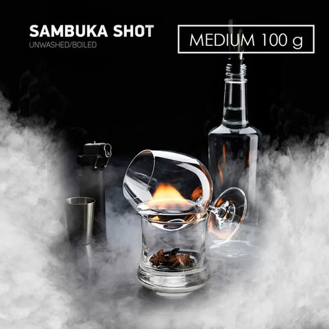 Табак Dark Side MEDIUM Sambuka Shot 100 г