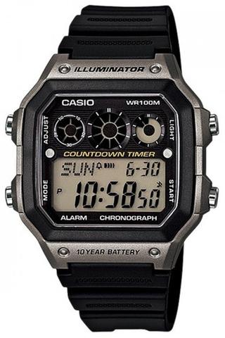 Купить Мужские японские наручные часы Casio AE-1300WH-8A по доступной цене