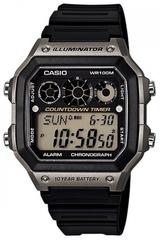 Мужские японские наручные часы Casio AE-1300WH-8A