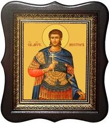 Нестор Солунский (Фессалоникийский) Мученик. Икона на холсте.