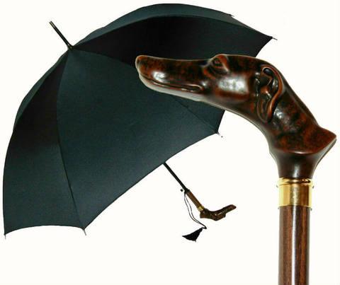 Купить онлайн Зонт-трость Guy de Jean TÊTES Chien в магазине Зонтофф.