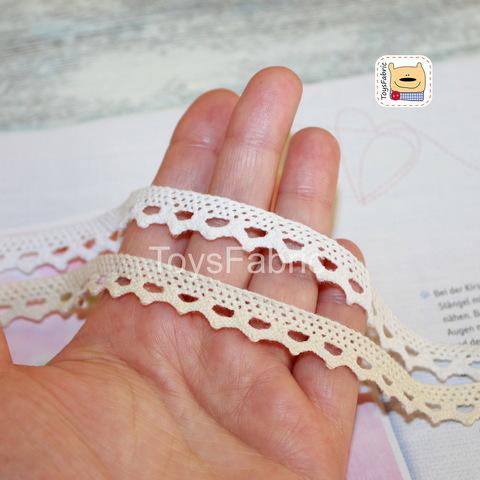 Кружево вязаное СК01-Н (небеленое) 90см