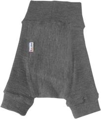 Пеленальные штанишки короткие Babyidea Wool Shorties, Серый меланж (шерсть мериноса 100%)
