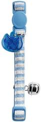 Ошейник для кошек хлопок голубой, Hunter Smart Cotton Stripes