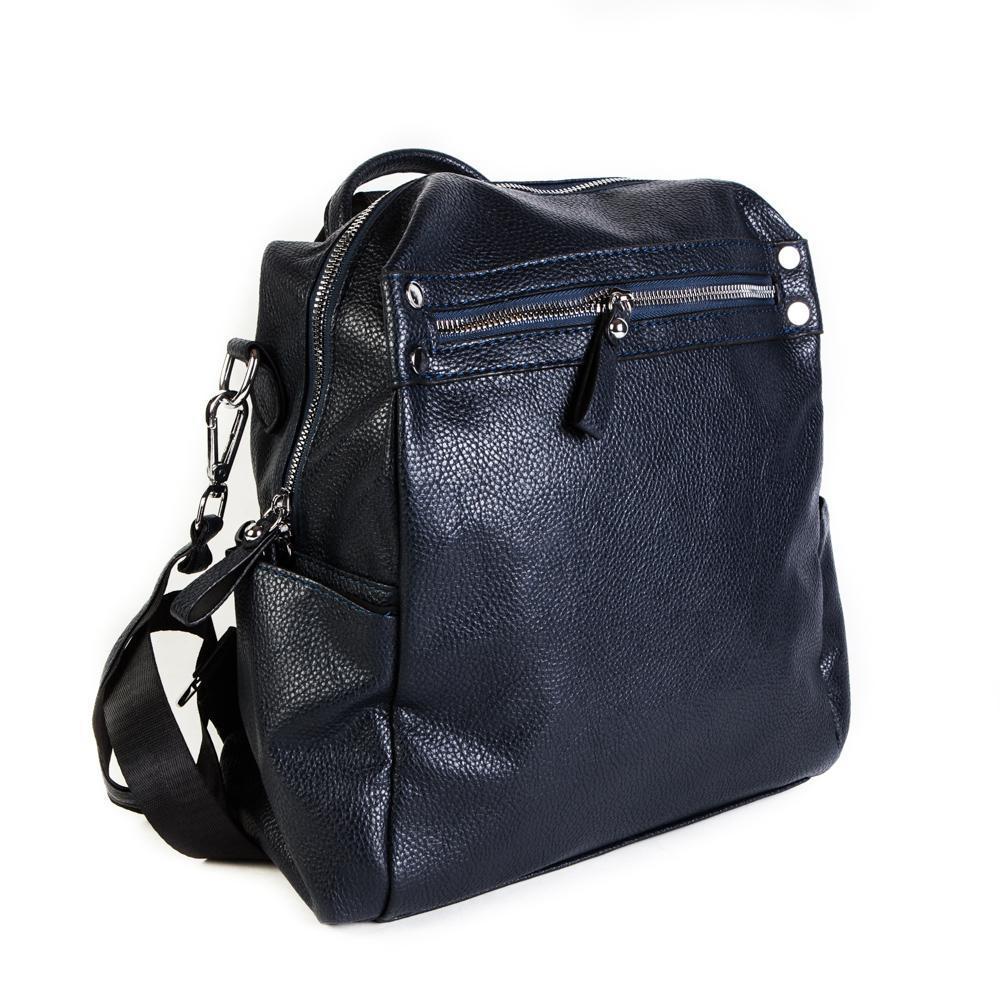 Женский средний рюкзак 29х32х12 см синий 4096-2-5