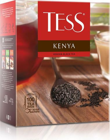 """Чай черный """"Tess"""" Kenya 100*1,8"""