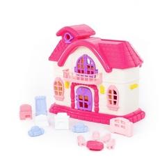 """Кукольный домик """"Сказка"""" с набором мебели"""