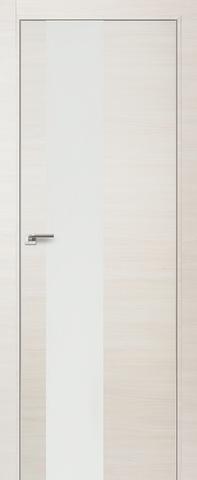 Дверь Profil Doors № 5 Z, стекло белый лак, цвет эш вайт кроскут, остекленная