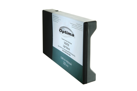 Картридж Optima для Epson 7880/9880 C13T606700 Light Black 220 мл