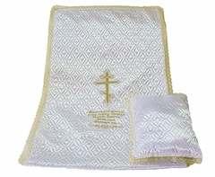 Комплект Атласная ТС вышивка «Крест-Молитва»
