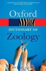 Oxf Dict Of Zoology