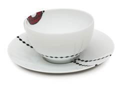 Чашка с блюдцем  Ben edict  250 мл AR00061
