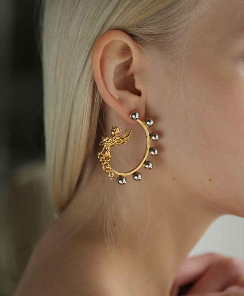 Sphinx earrings