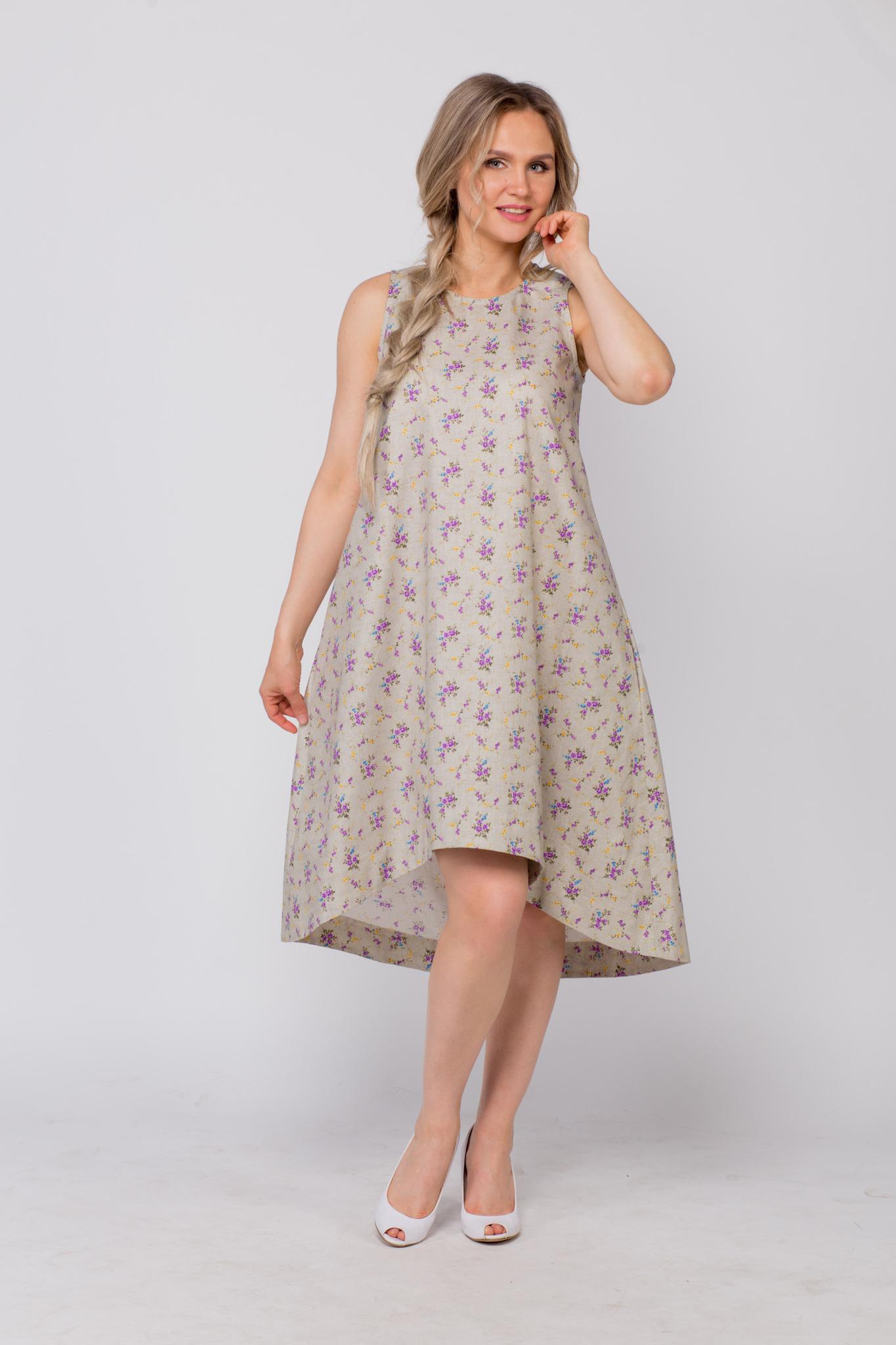 Платье льняное Очарование в интернет-магазине