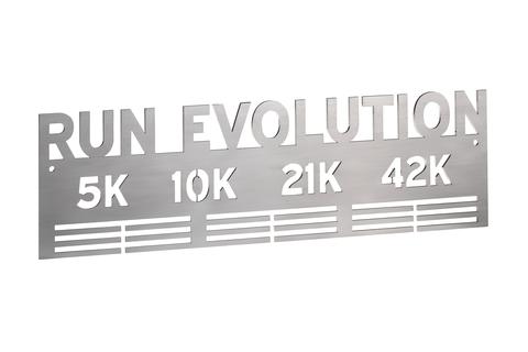 Держатель для медалей Run evoultuion (silver)