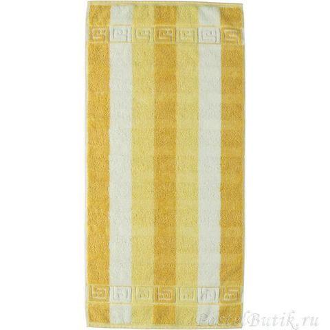 Полотенце 80х150 Cawo Noblesse 1011 Frottier желтое