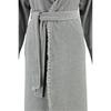 Элитный халат велюровый Ariel серый меланж от Vossen