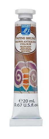 Патина коричневая Lefranc&Bourgeois 20 мл, туба