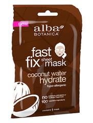 Глубокоувлажняющая тканевая маска с кокосовой водой, Alba Botanica