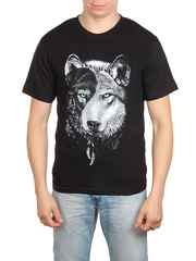 18710-1 футболка мужская, черная
