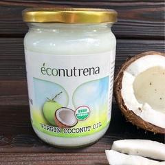 Масло кокосовое органическое холодного отжима