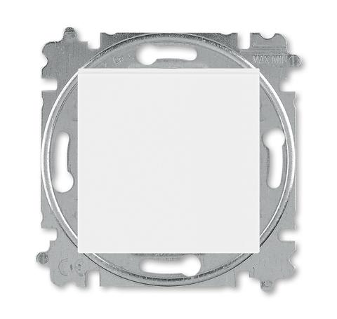 Выключатель одноклавишный. Цвет Белый / белый. ABB. Levit(Левит). 2CHH590145A6003