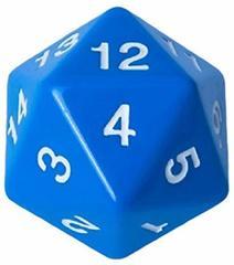 Кубик - счётчик жизней 55 мм синий