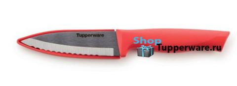 Нож Гурман для овощей в коралловом цвете