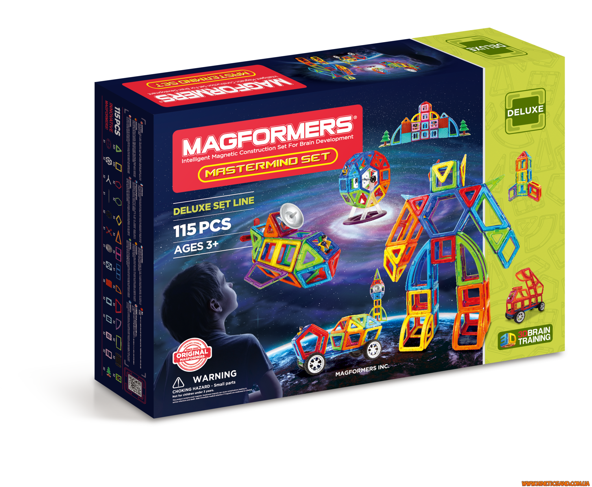 Magformers Мастер, 115 элементов