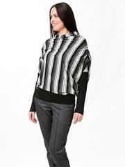 B2551-19n блузка женская, цветная