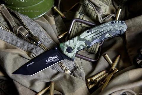 Складной нож Attack (cталь 8Cr13MoV)