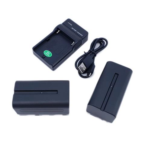 Набор аккумуляторов для кольцевых ламп NP-F750 (2 шт.)