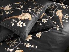 Элитная наволочка Fasan черная от Elegante