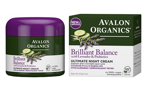 Восстанавливающий ночной  крем с лавандой, Avalon Organics