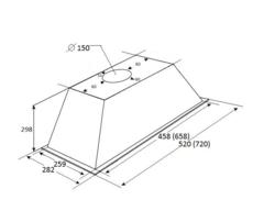 Вытяжка Kuppersberg Inlinea 72 XE схема