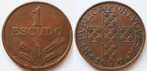 Португалия 1 эскудо