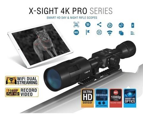 ATN X-SIGHT 4K PRO 3-14x50