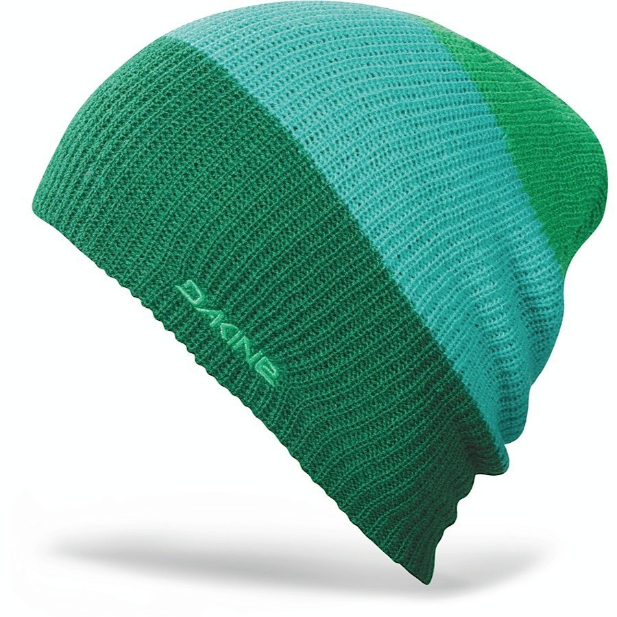 Длинные шапки Шапка-бини вязаная Dakine Lester Green 30.jpg