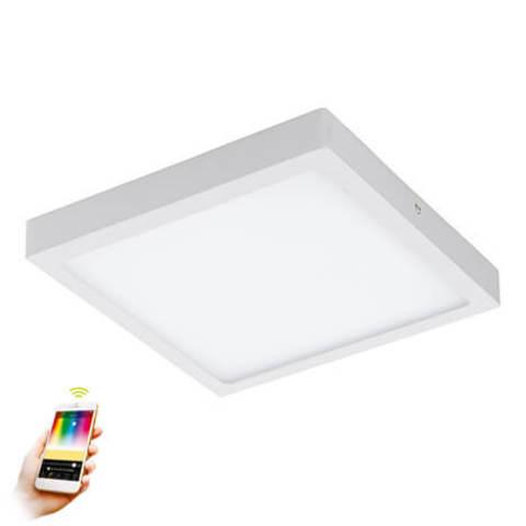 Панель светодиодная ультратонкая накладная системы умный свет EGLO connect Eglo FUEVA-C 96673