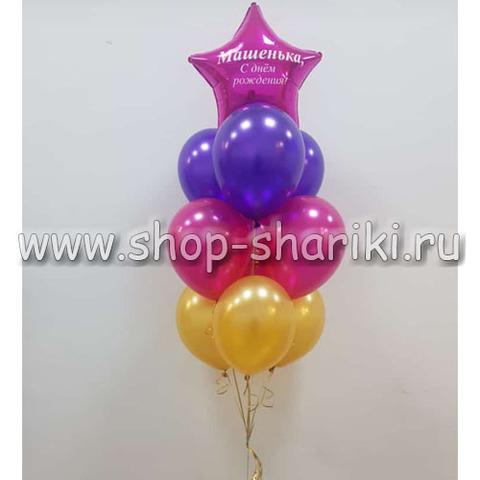 Фонтан из шаров на день рождения
